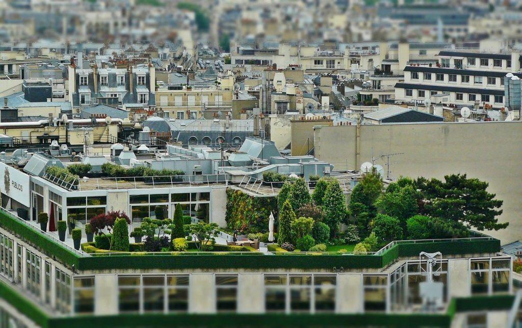 alloggiare sui tetti